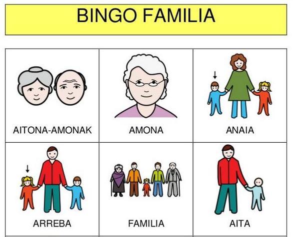 Bingo familia