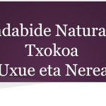 Sendabide naturala-Uxue te Nerea